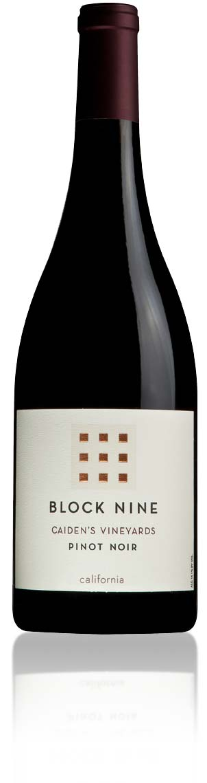 Block Nine Pinot Noir Bottle